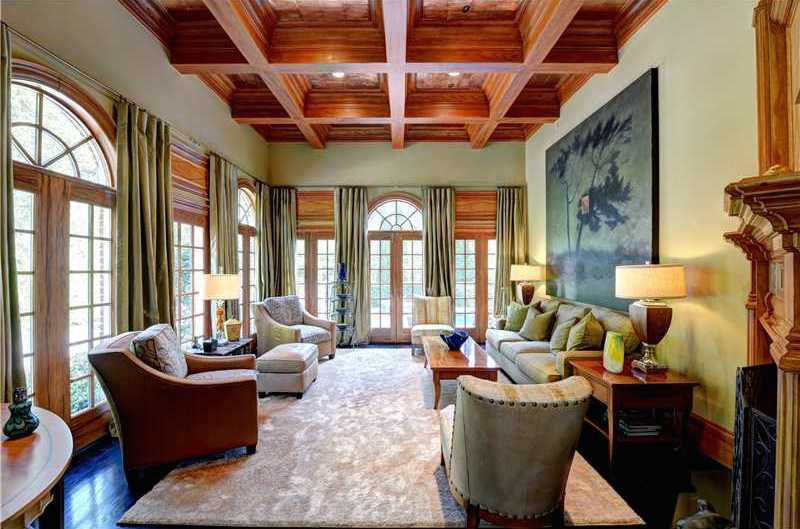 Atlanta Georgia Luxury Home Living Room
