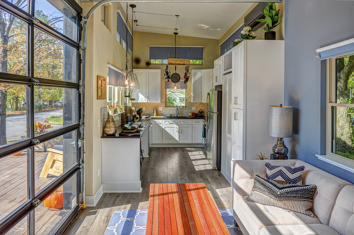 Unique Tiny House That Feels Like a Spacious Full Size Home | iDesignArch |  Interior Design, Architecture & Interior Decorating eMagazine