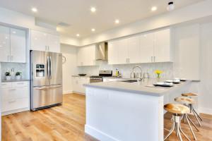 Brand New Contemporary White Kitchen