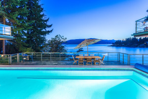 Vancouver Waterfront Home with View of Howe Sound