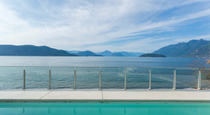 West Vancouver Home with View of Howe Sound