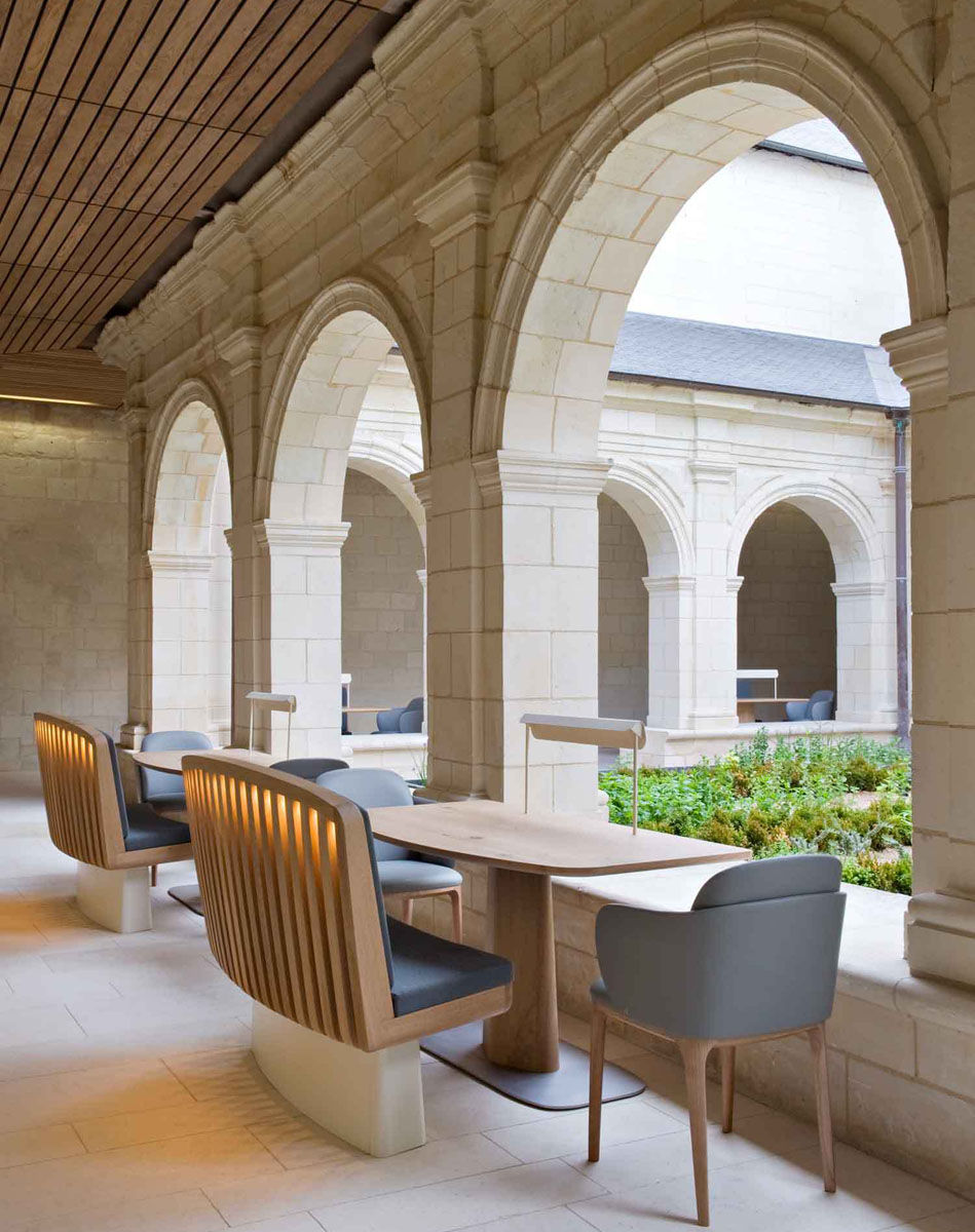 ancient monastery transformed into the magnificent abbaye. Black Bedroom Furniture Sets. Home Design Ideas
