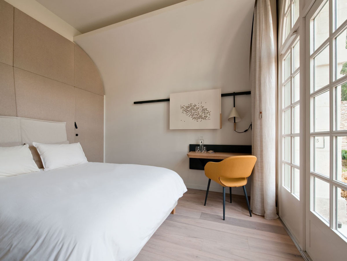Ancient monastery transformed into the magnificent abbaye for Hotel design loire