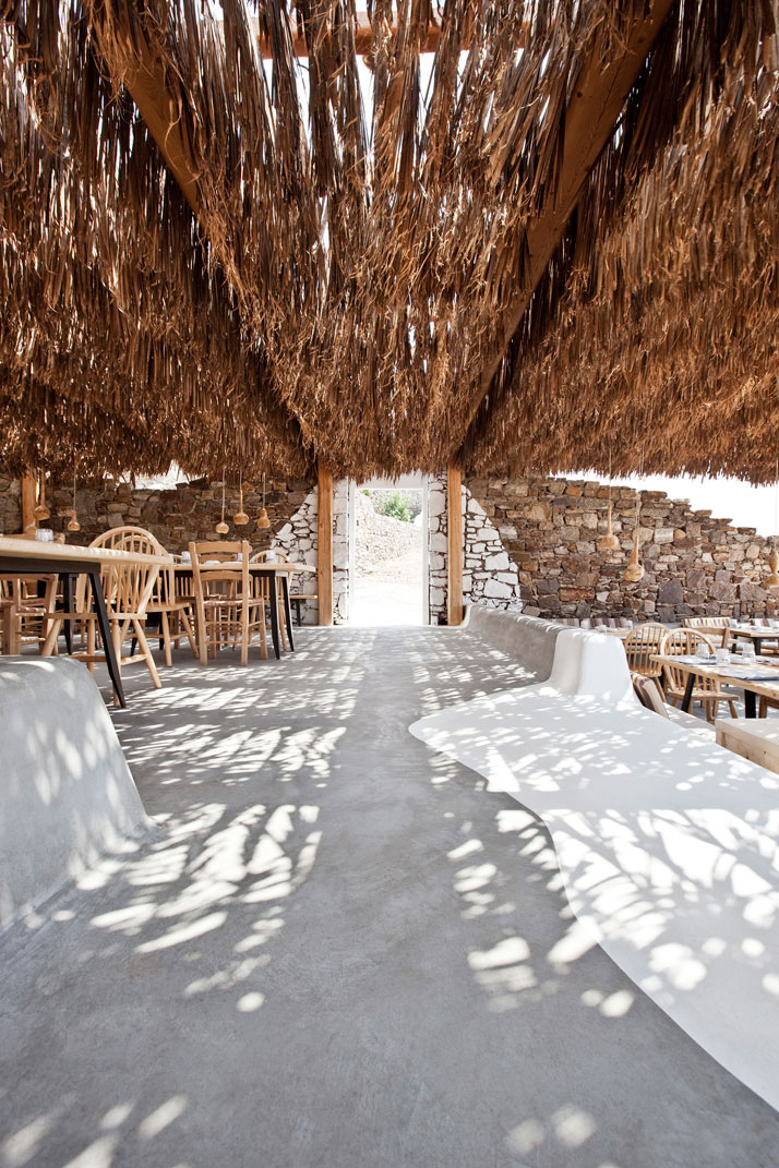 Alemagou Restaurant In Mykonos Idesignarch Interior