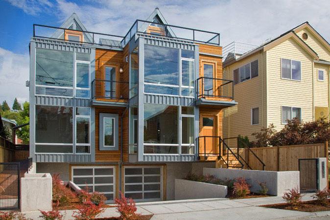 Modern Townhouse In Seattle Idesignarch Interior