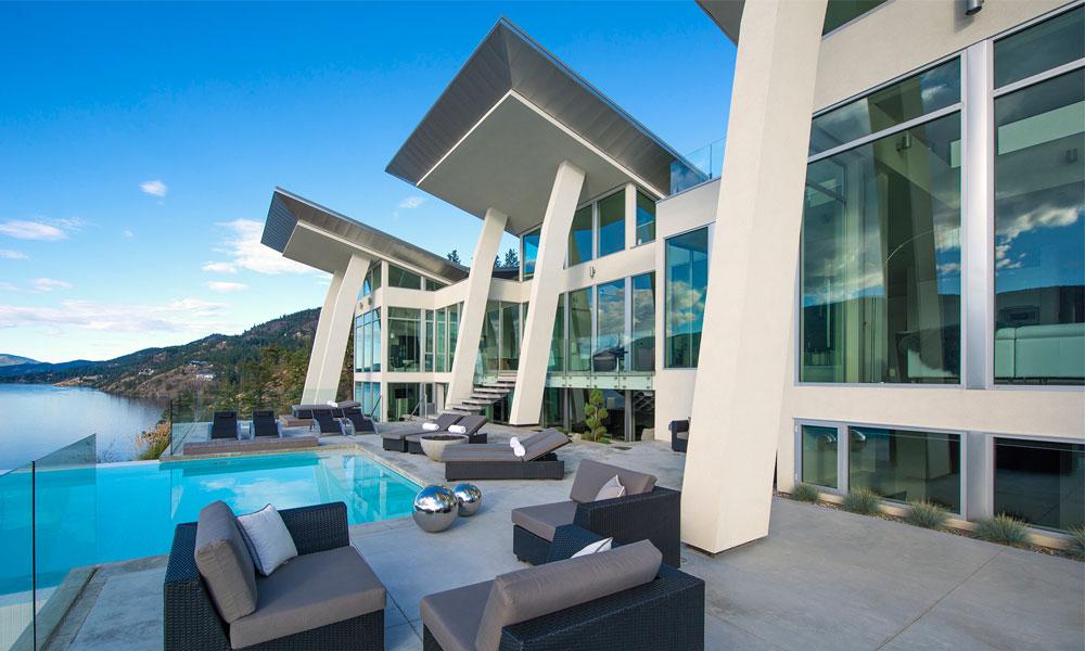Elegant Minimalist Residential Architectural