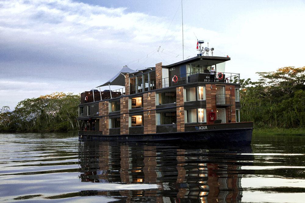 Luxury Amazon River Cruise Houseboat