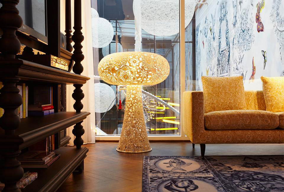 The Whimsical Interiors Of Andaz Amsterdam Prinsengracht Hotel ...