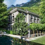 Romantic Alpine Home in Liechtenstein with Timeless Elegant Interior Design