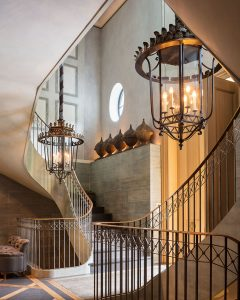 Classic Elegant Spiral Staircase