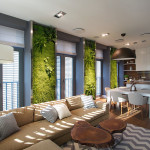 Vertical Gardening Creates An Oasis Inside Contemporary Apartment