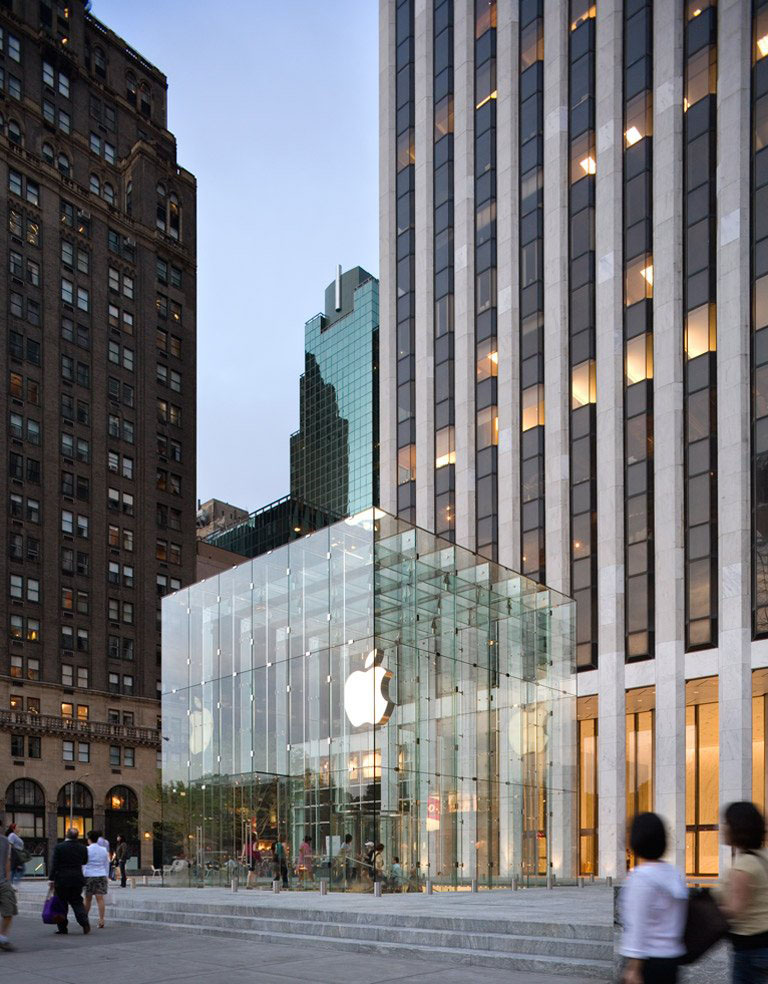 Apple Store Fifth Avenue New York | iDesignArch | Interior Design