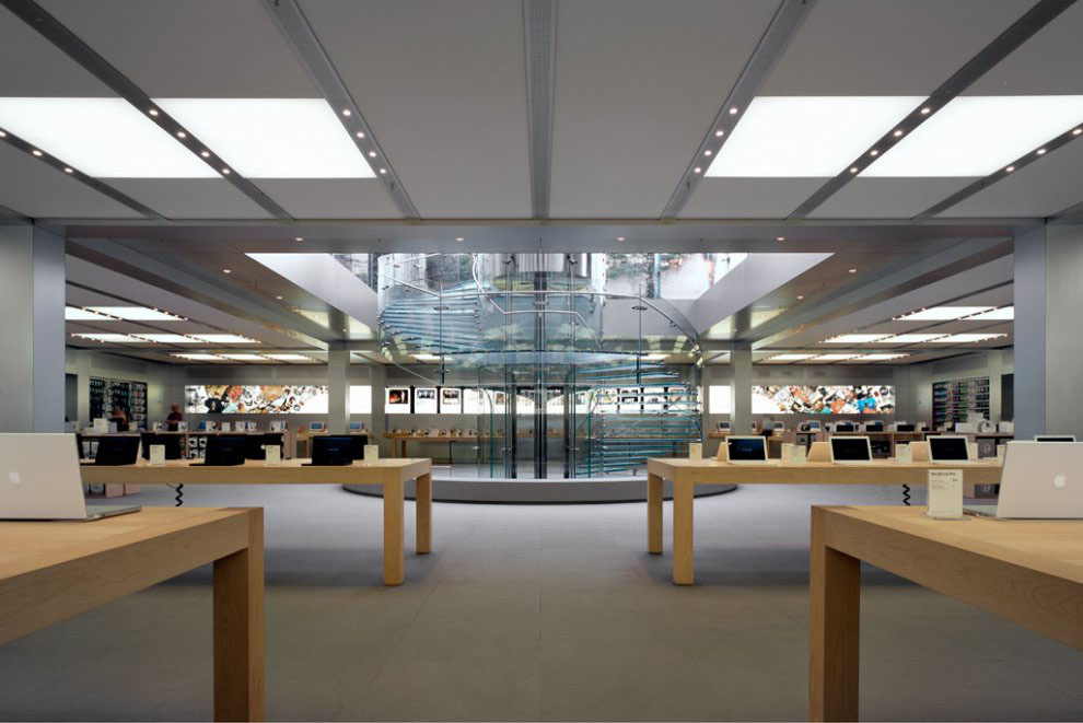 Apple Store Fifth Avenue New York Idesignarch Interior