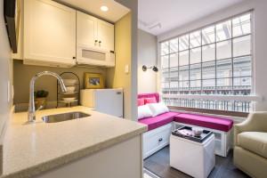 Tiny Micro Apartment Kitchen