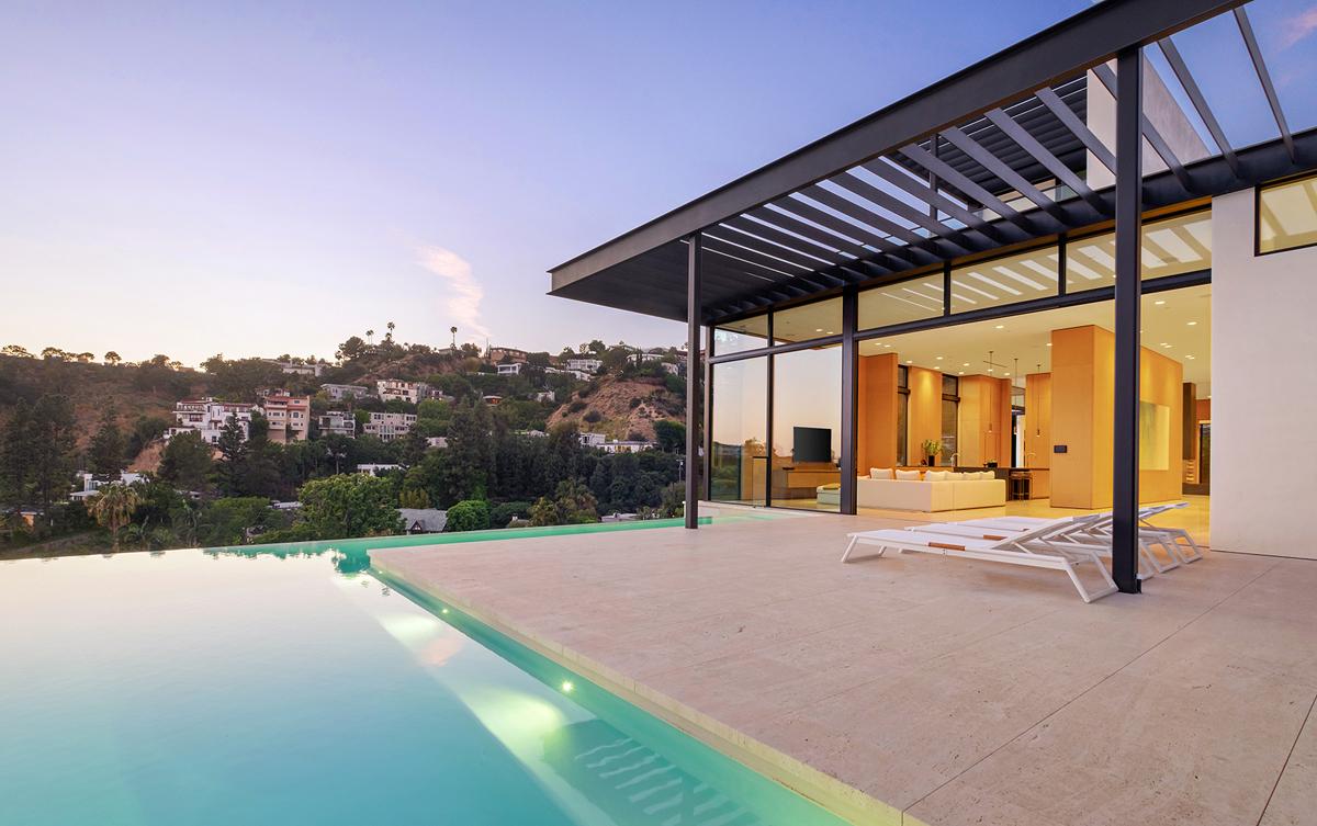 Ariana Grande House Swimming Pool