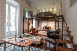 Unique Loft Apartment Design
