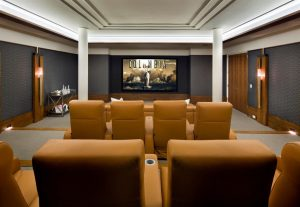 Luxury Home Theater Room