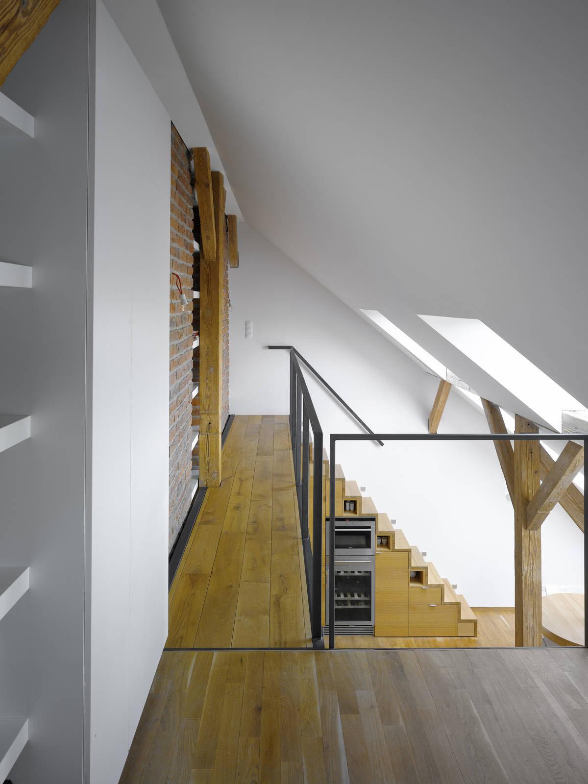 small attic uses - Small Attic Loft Apartment In Prague