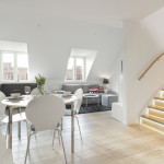 Unique Stockholm Attic Loft Apartment With Stylish Modern Decor