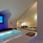Attic Apartment Design In Italy