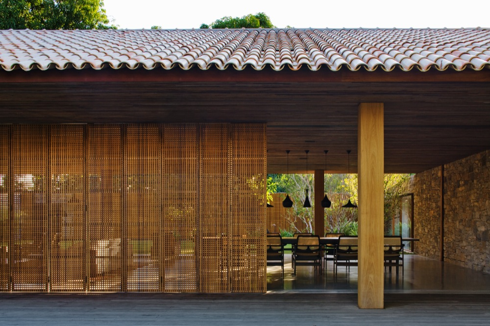 Traditional Architecture Of An Ecological House In Brazil