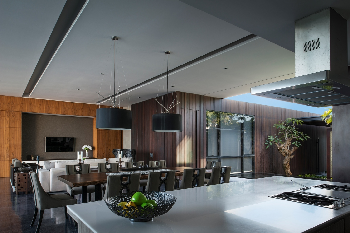 Decorating The Top Of Kitchen Cabinets Modern Resort Villa With Balinese Theme Idesignarch