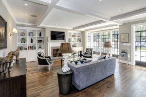 Inside Barack and Michelle Obama's House Family Room