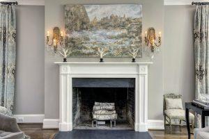 Craftsman Contemporary Fireplace