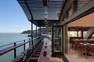 Sausalito California Restaurant Outdoor Terrace Dining