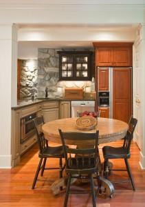 Rustic Basement Kitchen