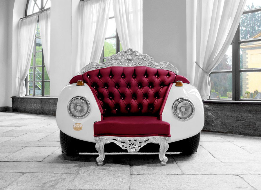 Baroque Art Chair