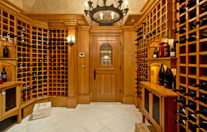 Luxury Home Cellar