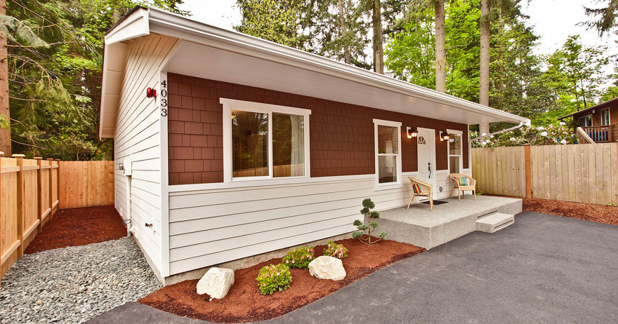 Stylish Small Bungalow Home