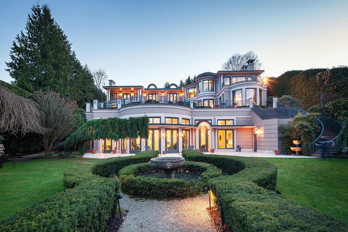 Belmont Estate European Style Mansion Vancouver Bc Canada 1