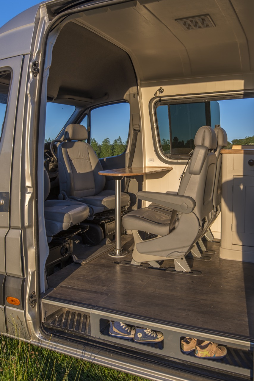 Minivan Camper Conversion >> Custom Luxury Van Conversion Mobile Home | iDesignArch | Interior Design, Architecture ...