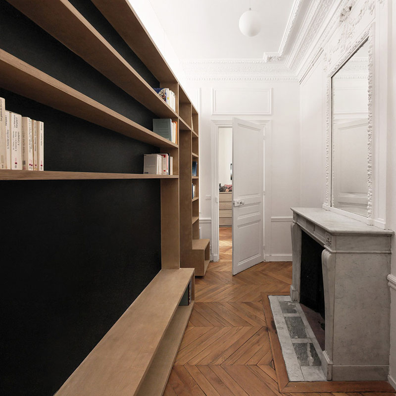 Haussmann Style Paris Apartment Renovation Idesignarch