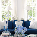 Blue and White Costal Decor
