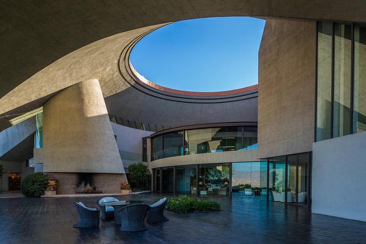 Modern Open Courtyard
