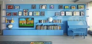 Blue Book Shelves