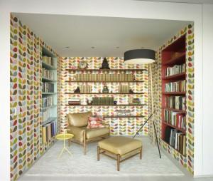 Retro Niche Reading Corner