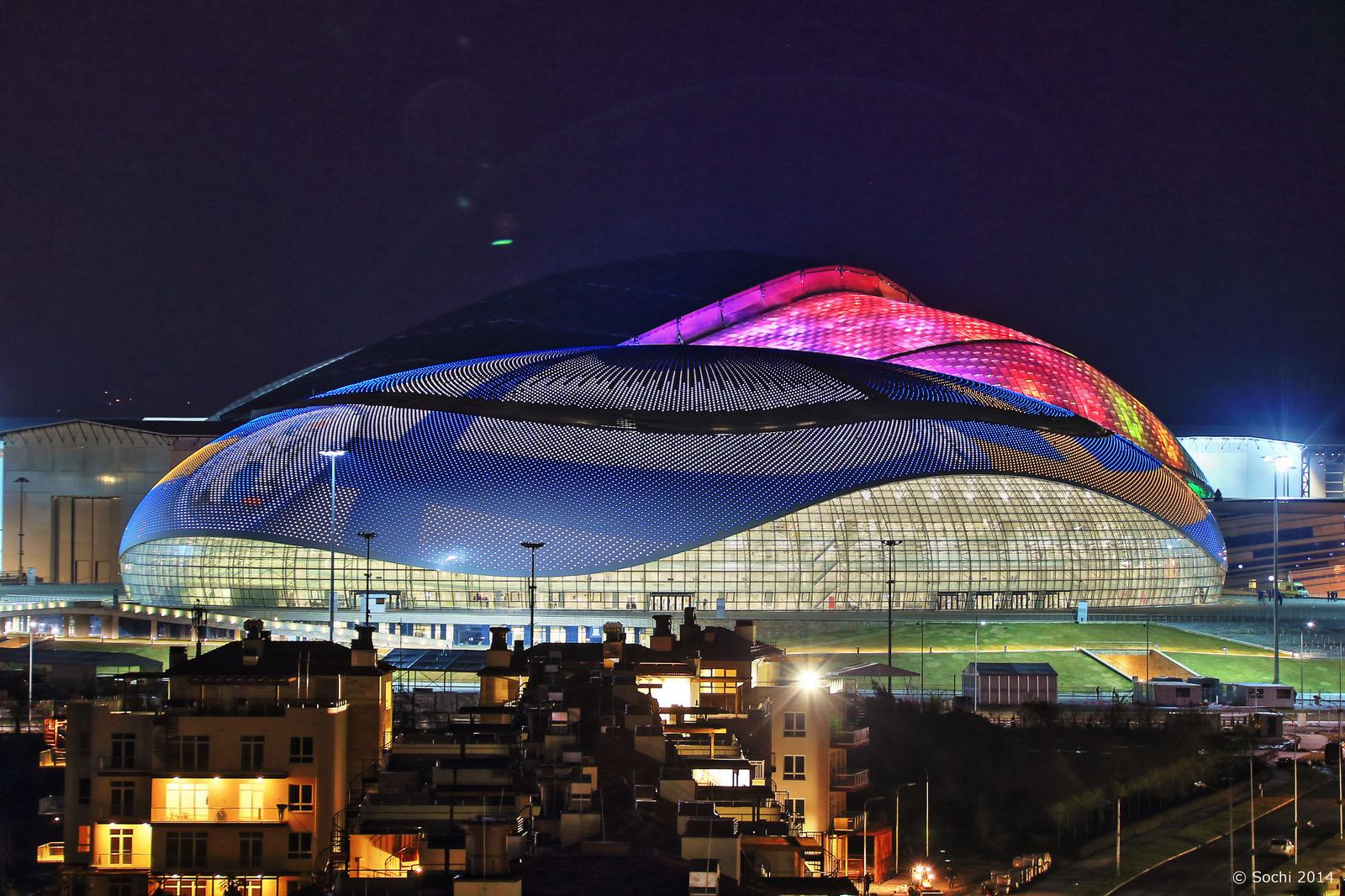 Sochi Olympics Bolshoi Ice Dome