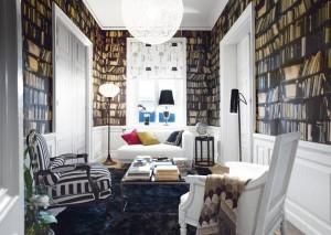 Fake-Bookshelf-Wallpaper