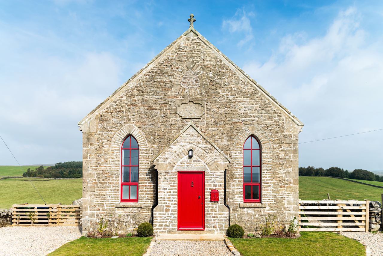 Small Chapel Converted Into Charming Modern Holiday