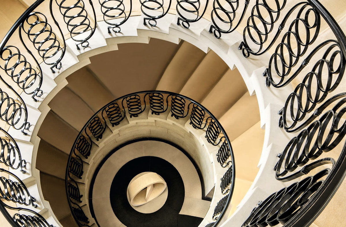 Classical Spiral Staircase