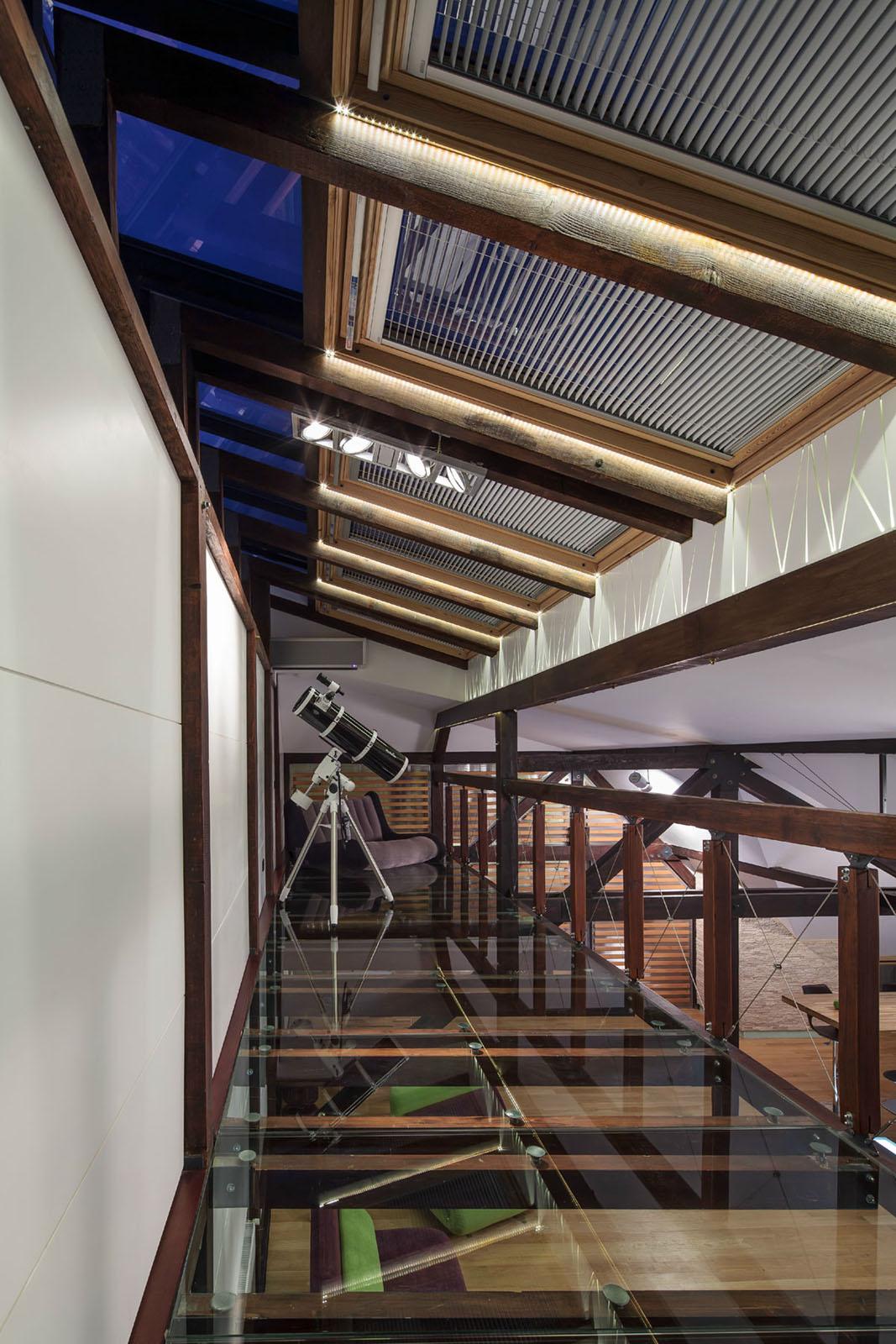 Loft with Glass Floor