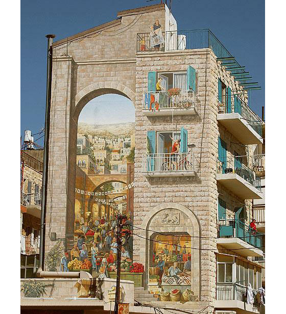 Murals On Buildings From Around The World Idesignarch Interior Design Architecture