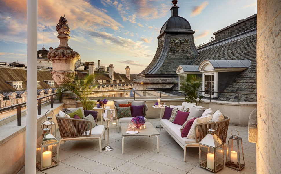 Elegant Roof Terrace