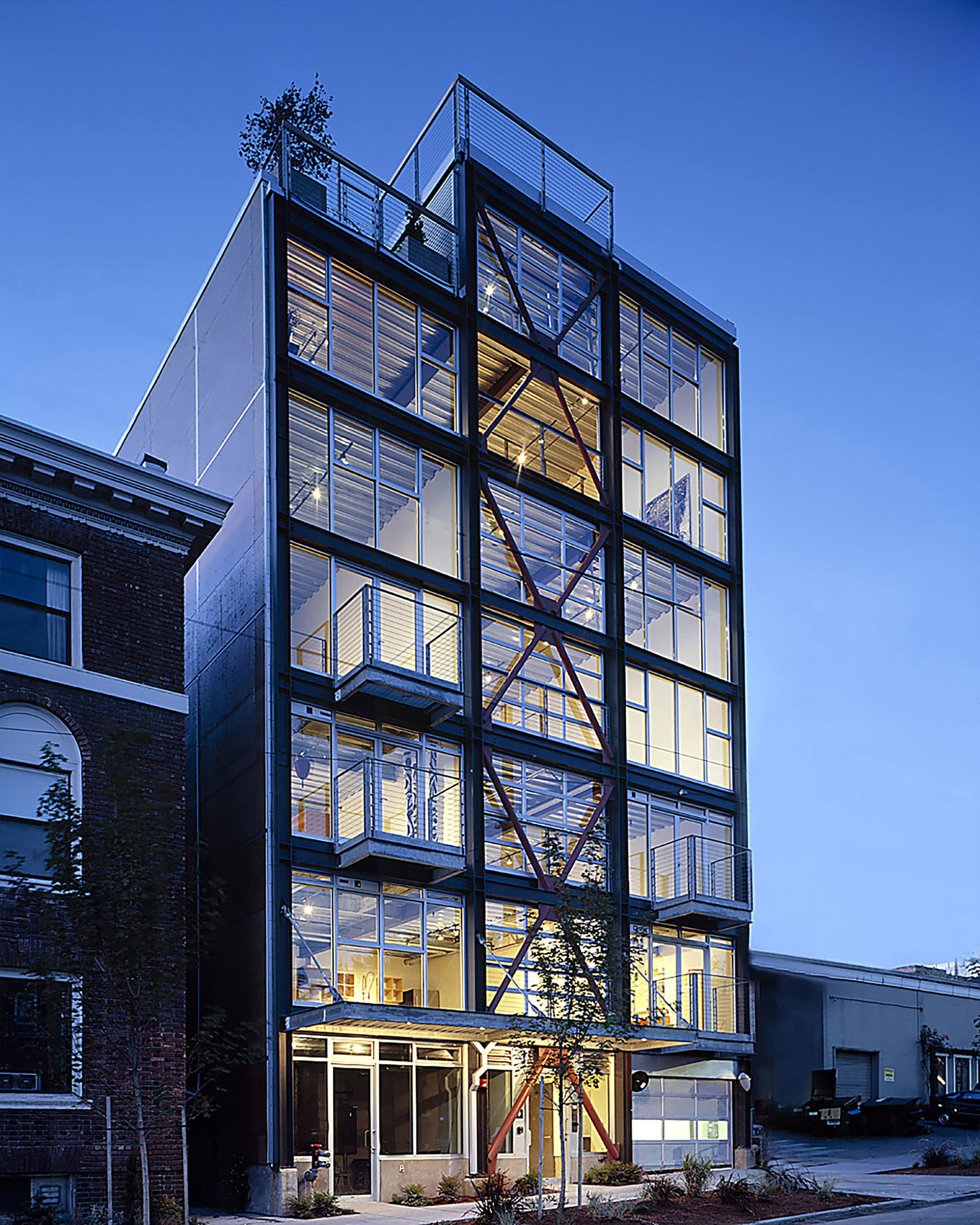 Capitol Hill Seattle Loft Apartment Building