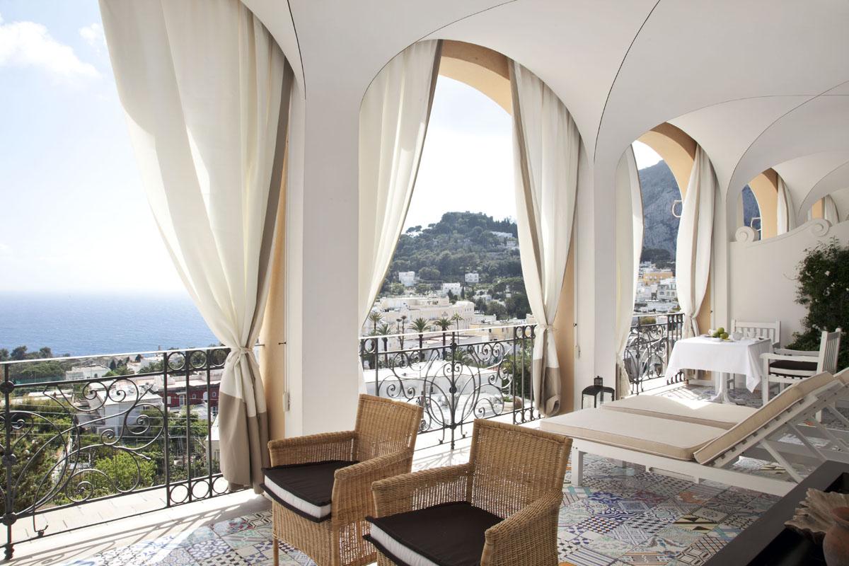 Capri Tiberio Palace A Refined Contemporary Hotel