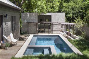 Concrete Backyard Pool